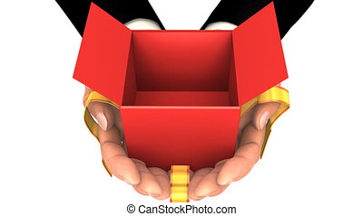 Hands Giving the Gift with Zoom