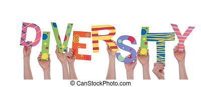 Hands Holding Diversity