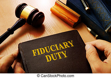 Hands holding Fiduciary duty