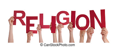 Hands Holding Religion