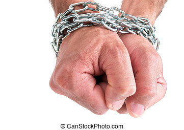 Hands in chain