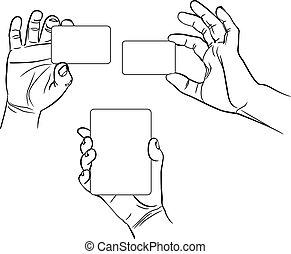 Hands in different interpretations