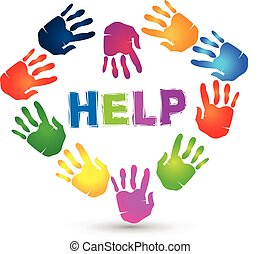 Hands lovely help logo.