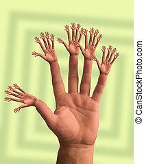 Hands - Many hands make light work