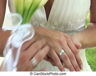 Hands Of Couple, Wedding