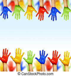 hands of different colors