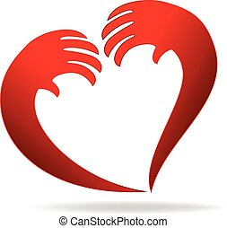 Hands of love logo
