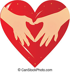 Hands of the heart...