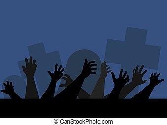 Hands Of Zombie