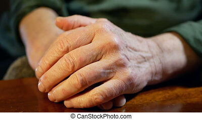 Hands old life adult