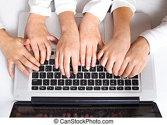 Hands on keypad