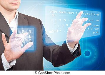 Two Virtual Keyboard.