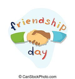 Hands Shaking Friendship Day