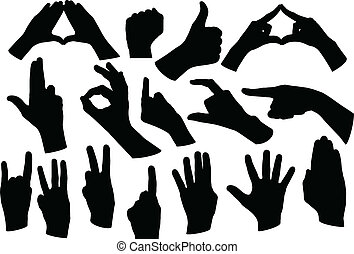 hands shape