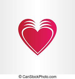 hands stealing heart concept st valentine symbol - hands...