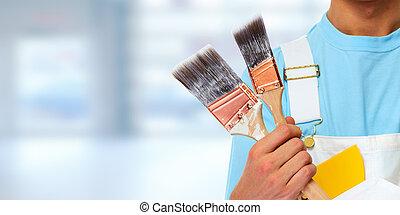 hands., szobafestő