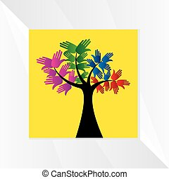 hands-tree-concept