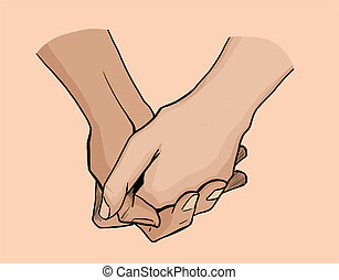 Clasped Hands Drawing | www.pixshark.com - Images ...