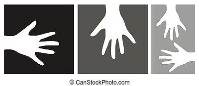hands vector illustration