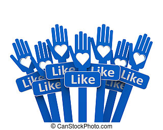 Hands with like