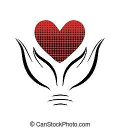 hands8, hjärta
