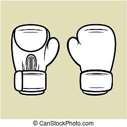 handschoenen, boxing