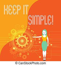 handschrift, tekst, bewaren, informatietechnologie, simple.,...