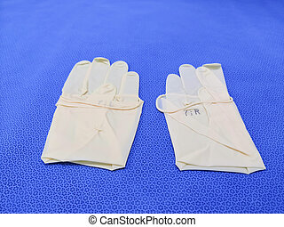handschuhe, medizin, chirurgisch