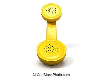 handset , κίτρινο