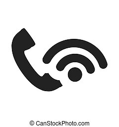 handset, telefone, ícone