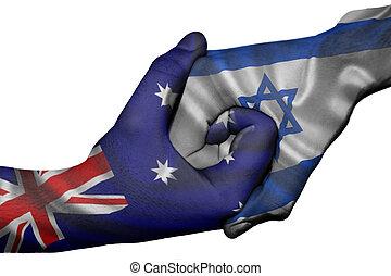 Handshake between Australia and Israel - Diplomatic ...