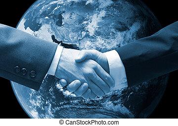 handshake - Business men shaking hands