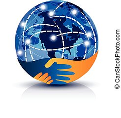 Handshake connections logo