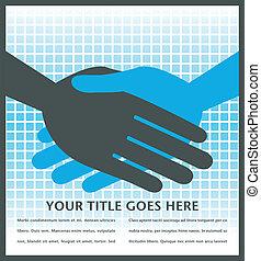 Handshake design.