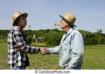 handshake greeting