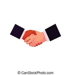Handshake, hand shake, deal, partneship concept