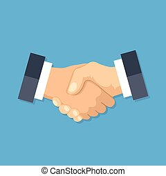Handshake icon. Shake hands, agreement, good deal,...