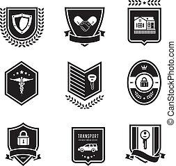 Handshake insurance badges