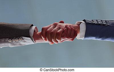 handshake of business partners. bottom view.