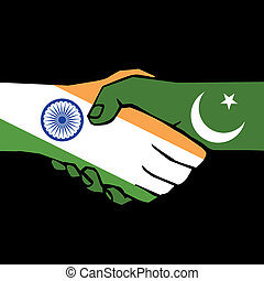 handshake of two states