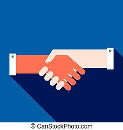 Handshake partnership business