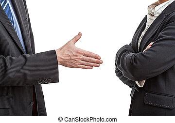 Handshake proposal