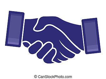 handshake stock illustrations 31 305 handshake clip art images and rh canstockphoto com shake hands clipart free two handshake clipart
