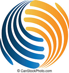 Handshaking business logo