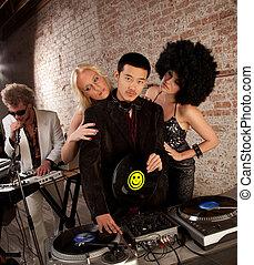 Handsome Asian DJ