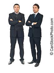 Handsome business men