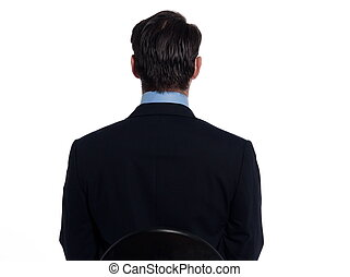 Handsome businessman man portrait
