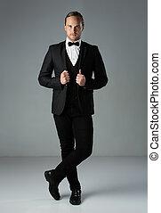 Handsome caucasian man - Portrait of a handsome caucasian ...