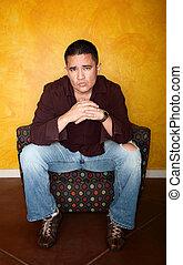 Hispanic Man