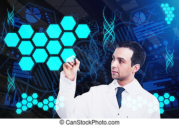 Medicine and technology concept